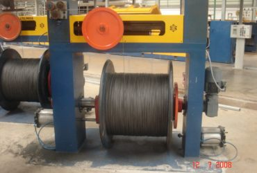 Wire patenting line